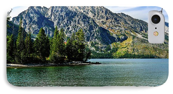 Jenny Lake IPhone Case by Greg Norrell