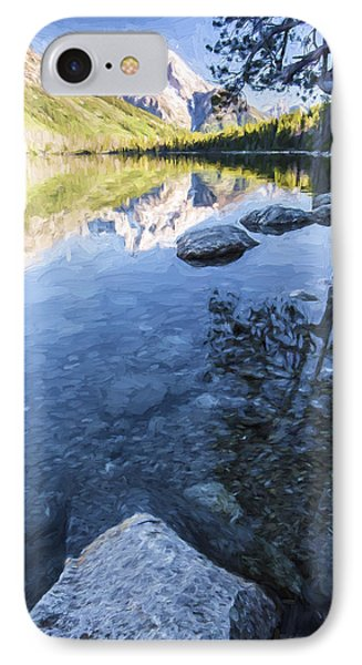Jenny Lake In The Morning II IPhone Case
