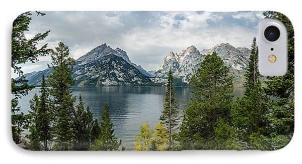 Jenny Lake Overlook IPhone Case