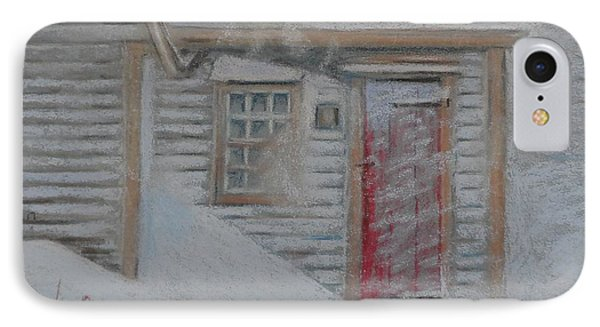 Jeremiah Calkin House  IPhone Case by Rae  Smith PAC