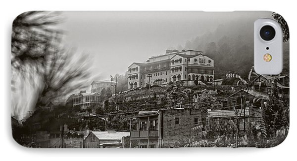 IPhone Case featuring the photograph Jerome Az On A Foggy Morning by Ron Chilston