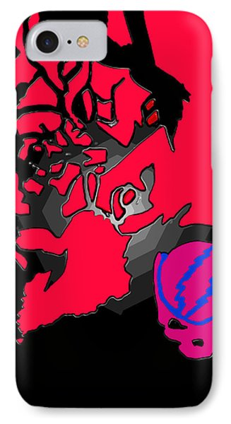 Jerry Garcia Speaks IPhone Case