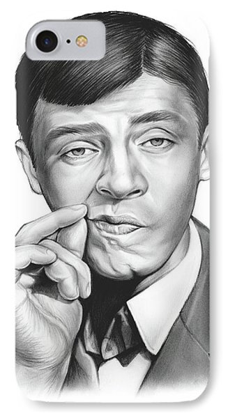 Jerry Lewis IPhone Case by Greg Joens
