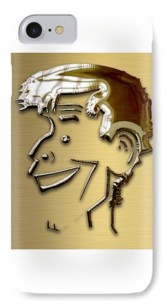 IPhone Case featuring the mixed media Jerry Lewis Tribute by Marvin Blaine
