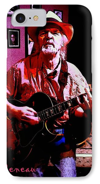 IPhone Case featuring the photograph Jerry Miller - Moby Grape Man 1 by Sadie Reneau
