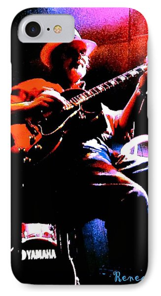 IPhone Case featuring the photograph Jerry Miller - Moby Grape Man 2 by Sadie Reneau