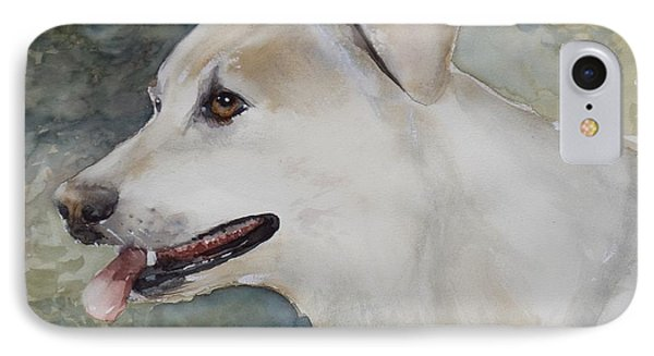 Jerry, Watercolor Painting IPhone Case