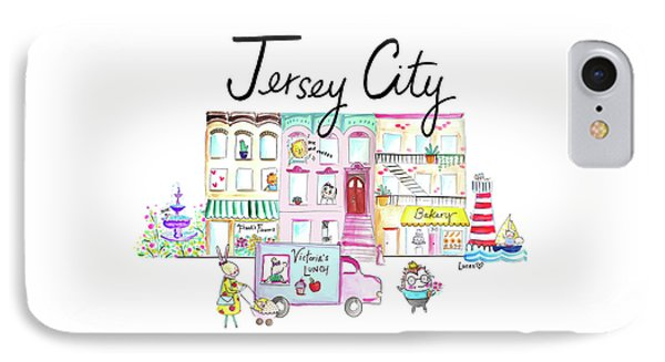Jersey City Phone Case by Ashley Lucas