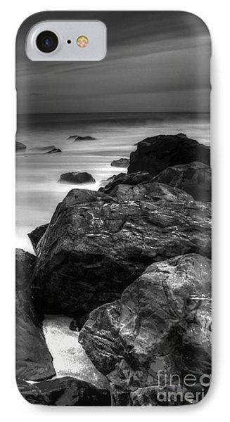 Jersey Shore At Night IPhone Case by Paul Ward