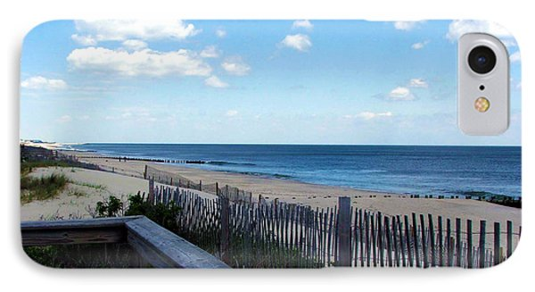 Jersey Shore IPhone Case by Judi Saunders