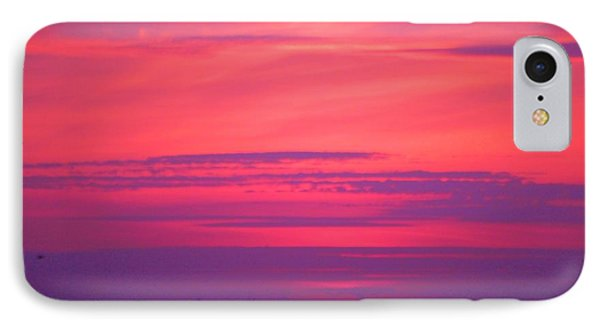 IPhone Case featuring the photograph Jersey Sunset by Susan Carella
