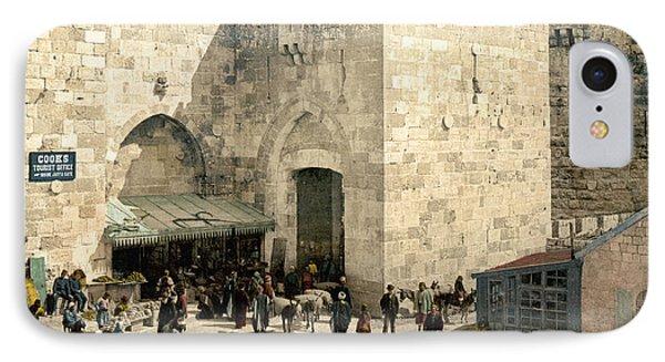Jerusalem: Jaffa Gate Phone Case by Granger