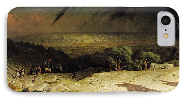 Jerusalem IPhone Case by Jean Leon Gerome
