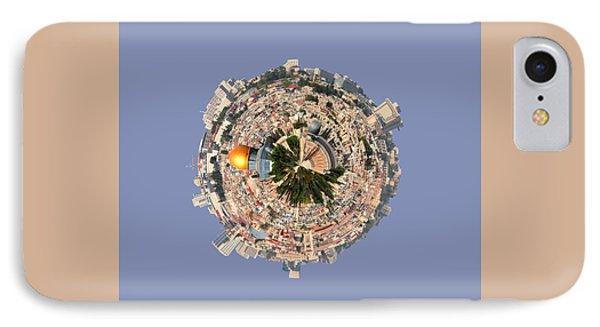 Jerusalem-small Planet IPhone Case by Galina Gutarin