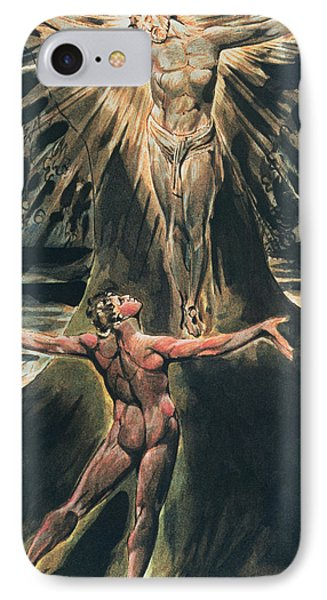 Jerusalem The Emanation Of The Giant Albion IPhone Case by William Blake
