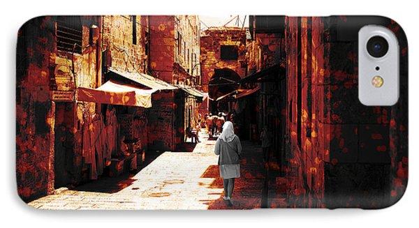 Jerusalem Walk Tote Bag IPhone Case