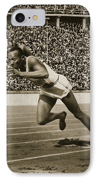Berlin iPhone 7 Case - Jesse Owens by American School