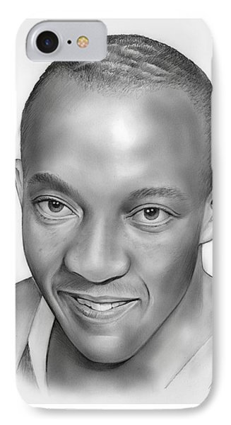 Jesse Owens IPhone Case by Greg Joens