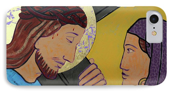Jesus And Veronica IPhone Case