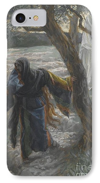 Jesus Appears To Mary Magdalene Phone Case by Tissot
