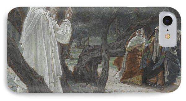 Jesus Appears To The Holy Women Phone Case by Tissot