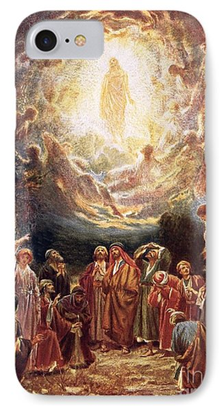 Jesus Ascending Into Heaven Phone Case by William Brassey Hole