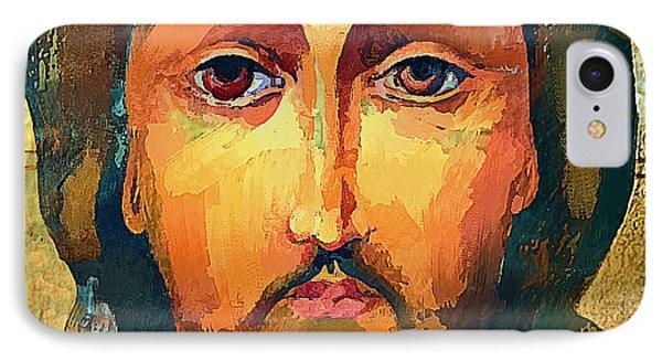 Jesus Christ Icon IPhone Case by Yury Malkov