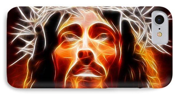 Jesus Christ Our Savior Phone Case by Pamela Johnson