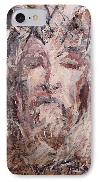 Jesus Christ IPhone Case by Pierre Van Dijk