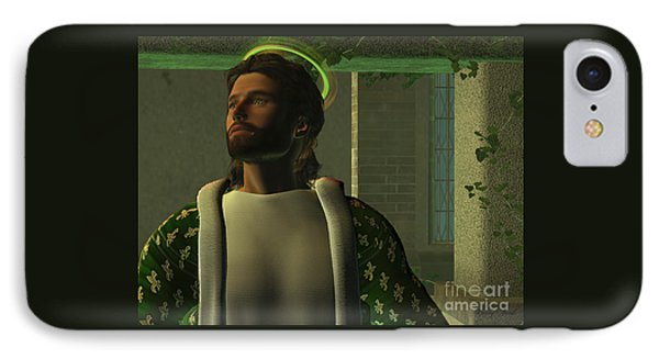 Jesus Phone Case by Corey Ford