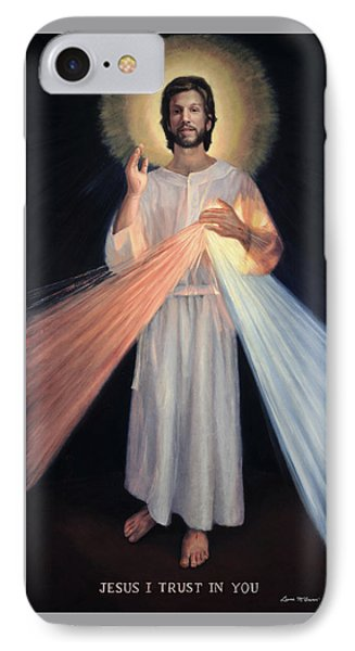 Jesus Divine Mercy IPhone Case by Sister Laura McGowan