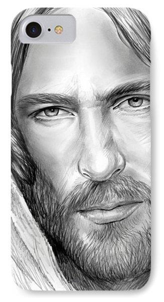 Jesus iPhone 7 Case - Jesus Face by Greg Joens