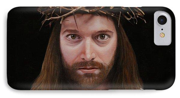 Jesus IPhone Case by Guido Borelli