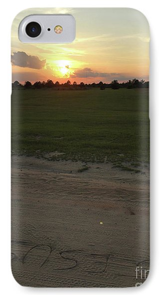 Jesus Healing Sunset IPhone Case