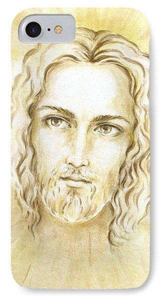 Jesus In Light Phone Case by Stoyanka Ivanova