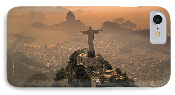 Jesus iPhone 7 Case - Jesus In Rio by Christian Heeb