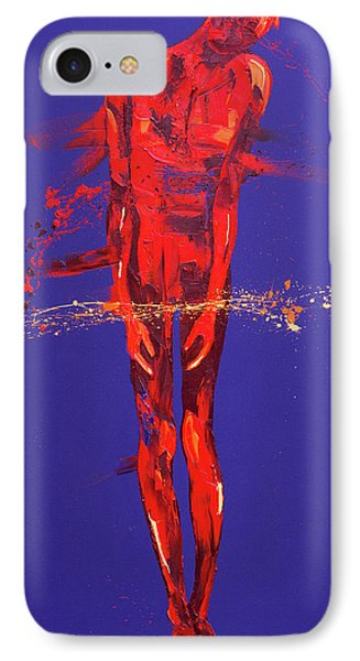 Jesus Is Condemned  Station 1 Phone Case by Penny Warden