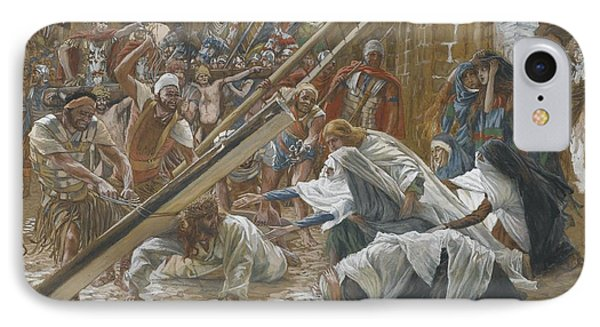 Jesus Meets His Mother IPhone Case by Tissot