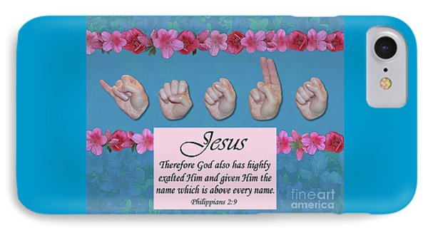 Jesus Name Above All Names Phone Case by Master's Hand Collection