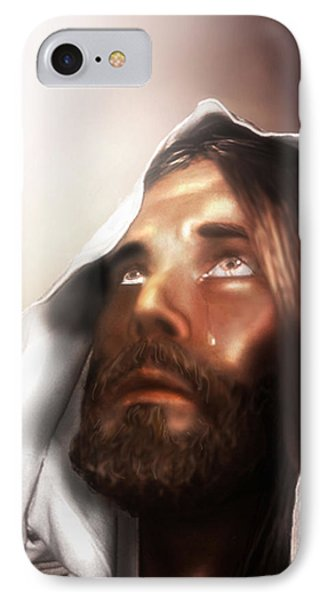 Jesus Wept IPhone Case by Mark Spears