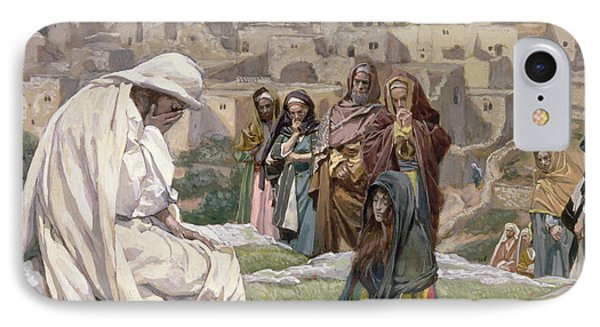 Jesus Wept IPhone Case by Tissot