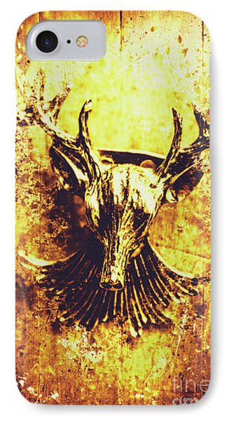 Jewel Deer Head Art IPhone Case by Jorgo Photography - Wall Art Gallery