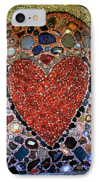 Jewel Heart IPhone Case by Susanne Van Hulst