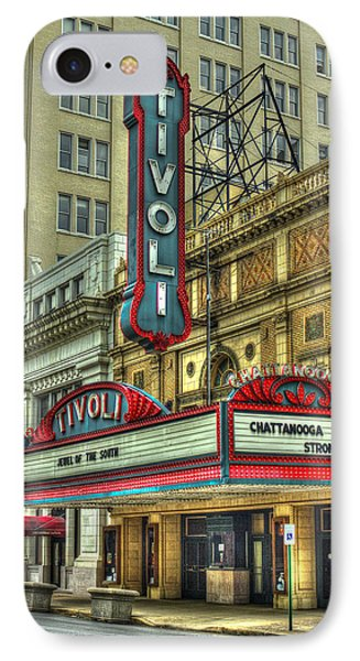 Jewel Of The South Tivoli Chattanooga Historic Theater IPhone Case by Reid Callaway