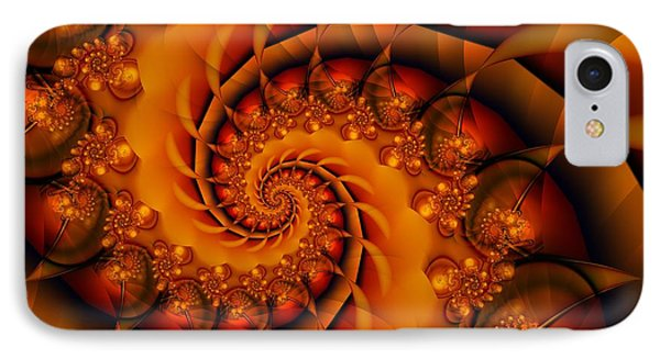 Jewels Of Autumn IPhone Case by Michelle H