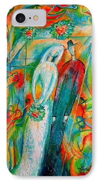 Jewish Wedding IPhone Case by Leon Zernitsky