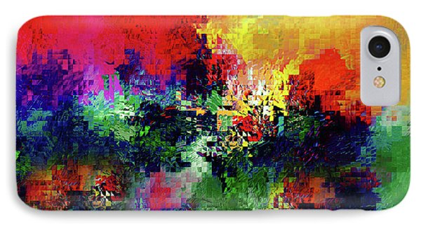 Jigsaw Of Life Abstract IPhone Case