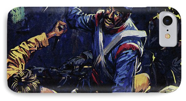 Jim Bowie Is Said To Have Been The Last Texan Alive At The Alamo  IPhone Case by Luis Arcas Brauner