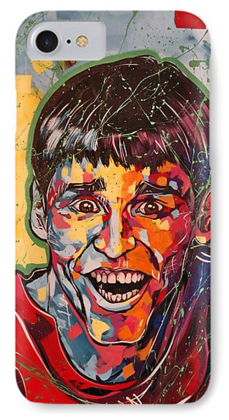 Jim Carrey IPhone Case by Jay V Art
