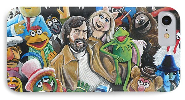 Jim Henson And Co. IPhone Case by Tom Carlton